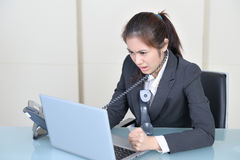 Office worker in office Stock Image