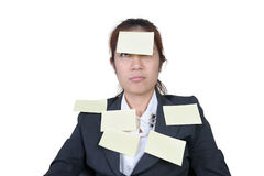 Office worker in office Royalty Free Stock Photography