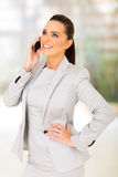 Office worker phone call Royalty Free Stock Photos