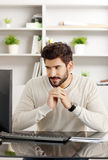 Office worker portrait Royalty Free Stock Photography