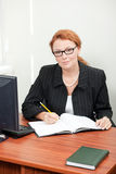 Office worker posing for camera Stock Photo