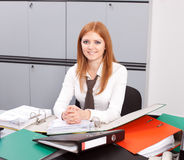 Office worker posing for camera Royalty Free Stock Photography