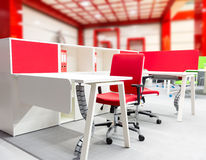 Office worker's place Royalty Free Stock Photography