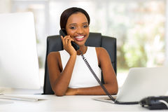 Office worker telephone Royalty Free Stock Photo