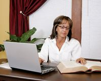Office worker woman Stock Photos