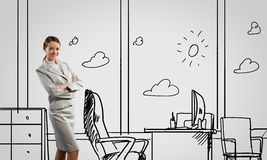 Office worker Royalty Free Stock Images