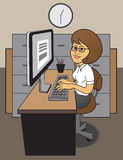 Office Worker Royalty Free Stock Image