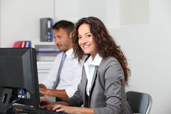 Office workers Stock Image