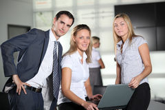 Office workers Royalty Free Stock Photos