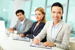 Office workers Royalty Free Stock Photo