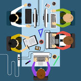 Office workers business management meeting Royalty Free Stock Photography