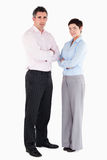 Office workers standing up Royalty Free Stock Photo