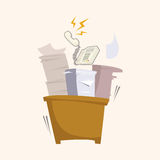 Office workers theme elements. Vector illustration file Stock Photography