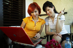 Office workers at vacation Royalty Free Stock Images