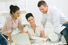 Office workers working Stock Photography