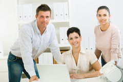Office workers working Royalty Free Stock Photos
