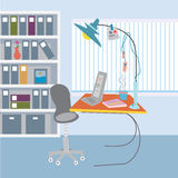 Office working place Royalty Free Stock Image