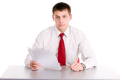 Office workman Stock Photos