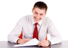 Office workman Stock Photography