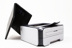 Office Workspace Equipment Stock Images