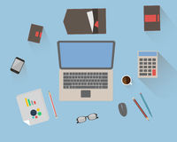 Office workspace 2 Stock Photos