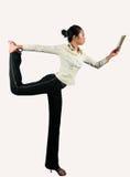Office yoga Stock Photos