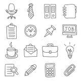 officemates łatwe tło ikony zamieniają przejrzystego cienia wektor ilustracja wektor