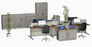 officemates Fotografia Stock