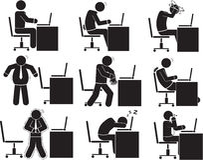 officemates royalty ilustracja