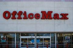 OfficeMax办公用品链子 免版税库存照片