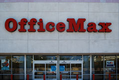 OfficeMax office supply chain Royalty Free Stock Photo