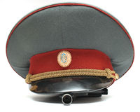 Officer's cap Royalty Free Stock Photos