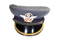 Officer's Cap Royalty Free Stock Photo