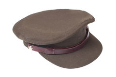 Officer's field cap Stock Photo