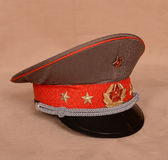 USSR army hat Royalty Free Stock Photo