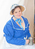 Officer's wife at Fort George Stock Photography