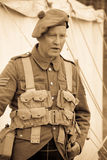 Officer from World War 1 royalty free stock photos