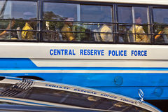 Officers  from central reserve Stock Image