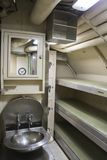 USS Albacore WWII submarine bunks for officers Royalty Free Stock Photography