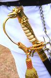 Officers sword Stock Image