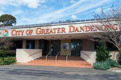 Offices of the City of Greater Dandenong Royalty Free Stock Photo