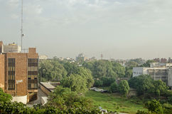 Offices and green space, Lahore, Pakistan Royalty Free Stock Photography