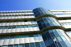 Offices: modern building geometry Stock Image