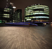 Offices by night Royalty Free Stock Photo