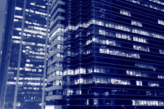 Offices at night Stock Photography