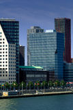 Offices of Rotterdam. Modern office building in Rotterdam. The Netherlands Royalty Free Stock Photo
