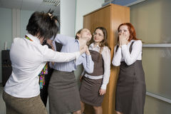 Free Offices`s Fight Stock Photography - 8303522