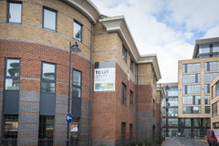 Offices to let. New build offices to rent Stock Photography