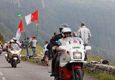 Officiële fietsen tijdens de Reis van Frankrijk Stock Afbeelding