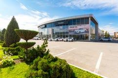 Officiële handelaar Lexus in Samara, Rusland Stock Afbeeldingen